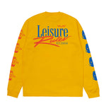 Pit Crew Long Sleeve T-Shirt - Gold