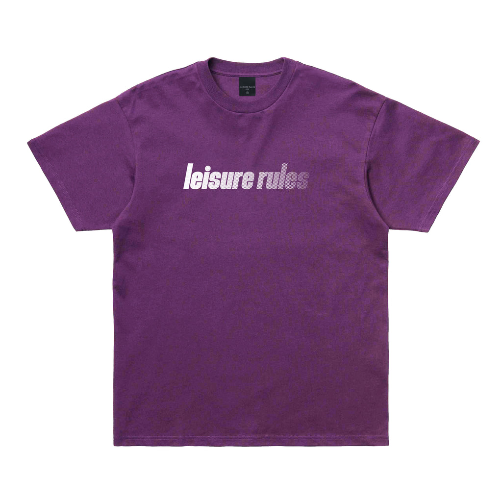 Leisure Rules Sport Logo T-Shirt - Purple
