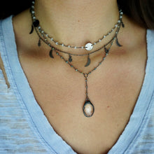 Gunmetal Layer Necklace