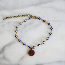 Blue Eye Anklet