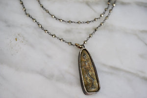 Stone Double Necklace