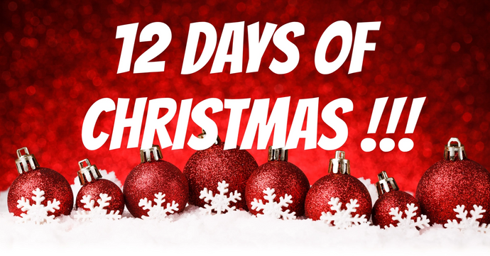 12 Days of Christmas STARTS NOW!!