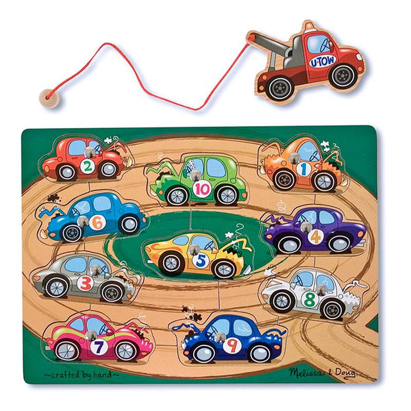 Magnetic Game Puzzles Tow-away Zone