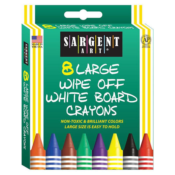 Sargent Art White Board Crayons Lrg