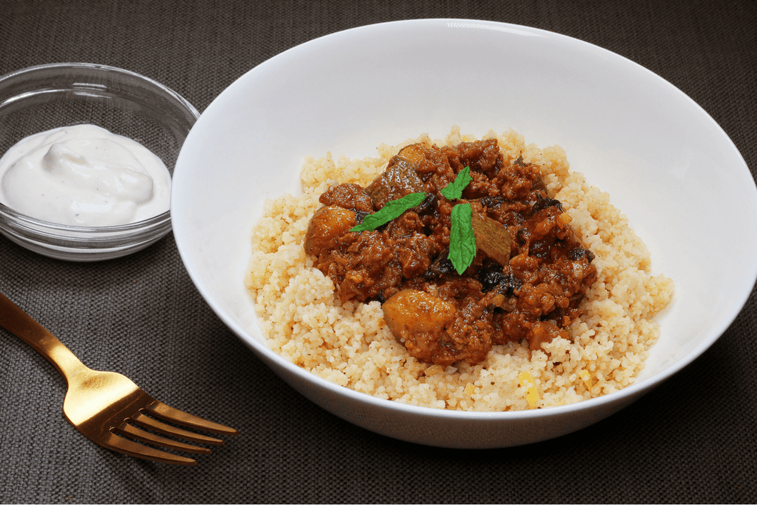 Beef Tagine with Lemon Couscous (2 Meals)
