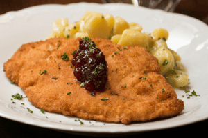 Chicken Schnitzel  with Fingerling Potato Salad (2 Meals)