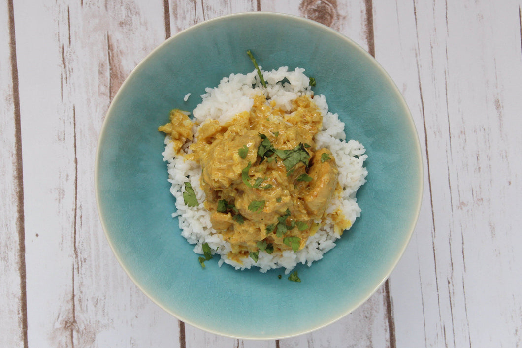 Coconut Curry Chicken w/ Coconut Rice (2 Meals)