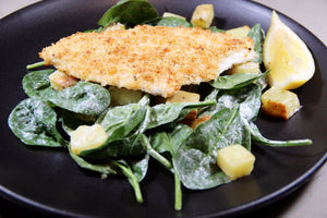 Chicken Parm with Spinach and Creamy Lemon Dressing (2 Meals)