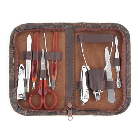 Deluxe Manicure Set with Deluxe Carrying Case