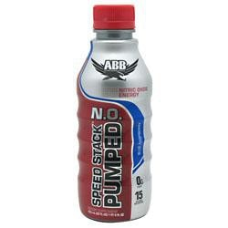 ABB Speed Stack Pumped N.O. Blue Raspberry 12 - 22 fl oz  bottles
