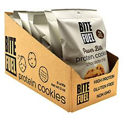 Bite Fuel Protein Cookies Chc Chip 3Oz8/ - Good Deal Supplements