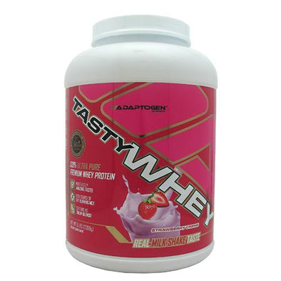 Adaptogen Science Tasty Whey Strawberry Creme 5 LBS