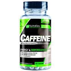 Nutrakey Caffeine 200Mg 100 Caps - Good Deal Supplements