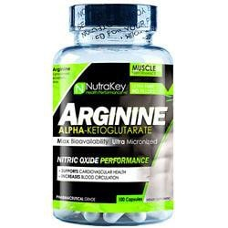 Nutrakey Arginine Akg 500Mg 100 Caps - Good Deal Supplements