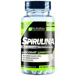 Nutrakey Spirulina 500Mg 100 Vcaps - Good Deal Supplements
