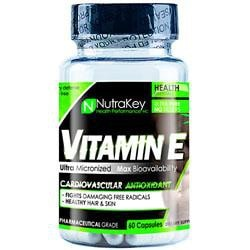 Nutrakey Vitamin E 700 Iu 60 Vcaps - Good Deal Supplements