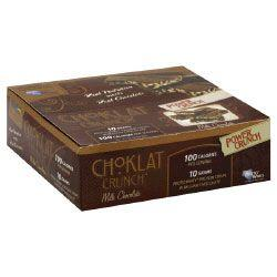BNRG Choklat Crunch Milk Choc 12/Bx - Good Deal Supplements