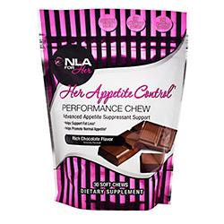 NLA For Her Appetite Ctrl Chews Choc 30/S - Good Deal Supplements