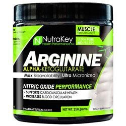 Nutrakey Arginine Akg 250G 166/Srv - Good Deal Supplements