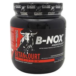 Betancourt Nutrition B-Nox Androrush Blue Rasp35/ - Good Deal Supplements