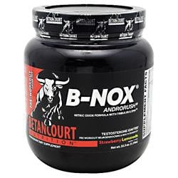 Betancourt Nutrition B-Nox Androrush Straw Lemon 35 - Good Deal Supplements