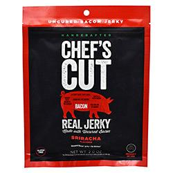 Chef's Cut Real Jerky Real Bacon Jerky Sriracha 2Oz - Good Deal Supplements