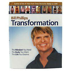 Bill Phillips Right Nutrition Transformation Book-Edisc - Good Deal Supplements