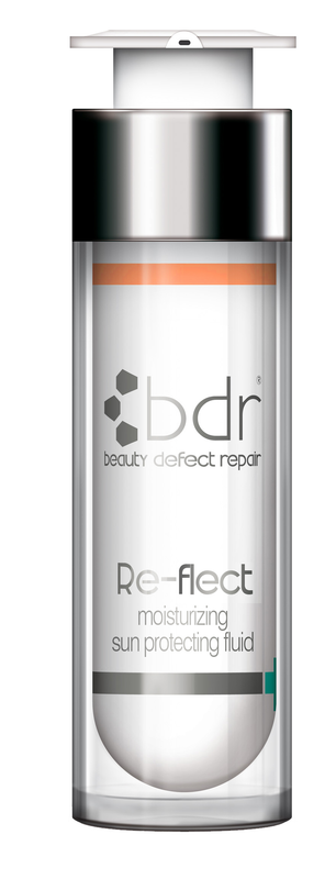 BDR Re-flex moisturizing cream protecting fluid SPF 30, 50ml