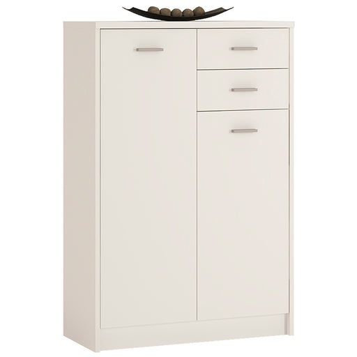 Raum Living | 4 You Tall 2 Door, 2 Drawer Cupboard