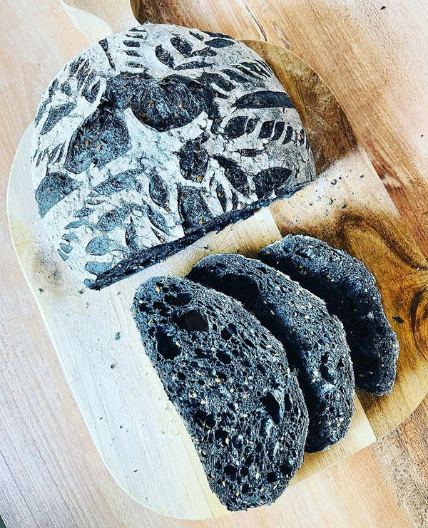 Charcoal Sourdough Bread