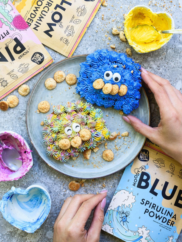 Cookie Monster Toast | Rawnice