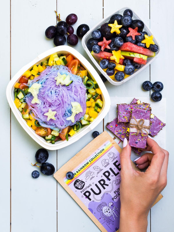 Easy Granola Bars and Unicorn Noodles | Rawnice