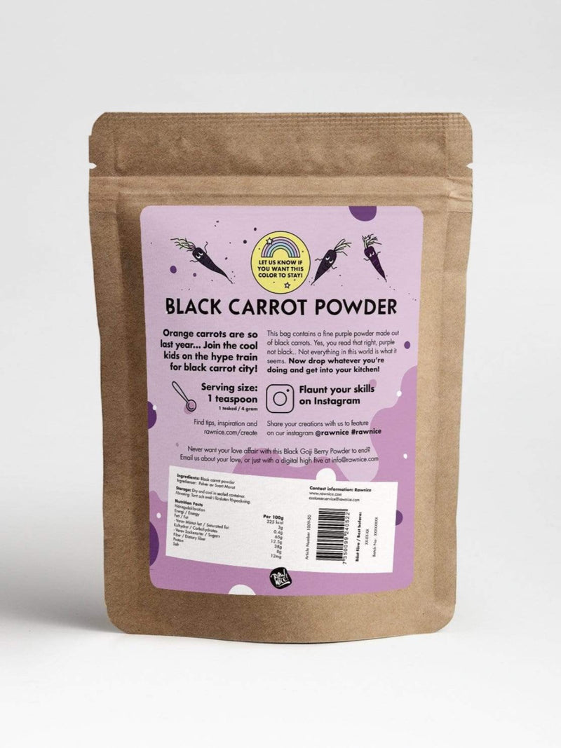 Black Carrot Powder *Limited Edition* - Rawnice