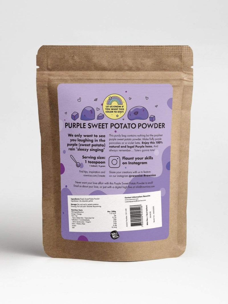 Purple Sweet Potato Powder *Limited Edition* - Rawnice