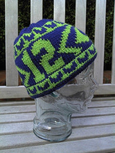 "12th Man ""Eyes on You"" Hat Pattern PDF"