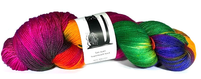 San Juan Superwash Lace Weight Yarn
