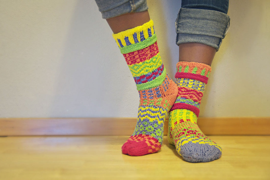 Mismatched Socks Pattern PDF