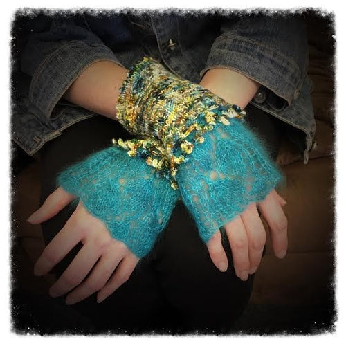 Dayflower Wristlets Pattern PDF