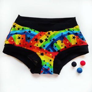 Dark Rainbow Scrundies
