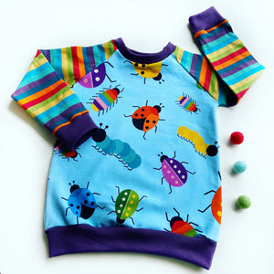 Toes Bug Parade Raglan Jumper large scale