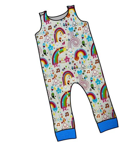 Doodle Rainbow Dungarees