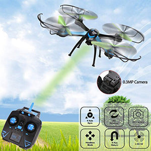 Quadcopter Drone with 360 Degree Eversion Camera