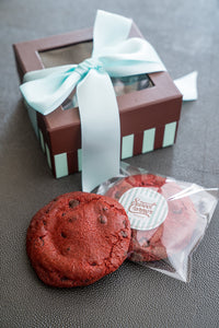 RED VELVET NUTELLA BOMB COOKIE BOX