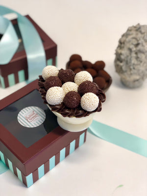 Black/White Brigadeiro Easter Egg pick up only