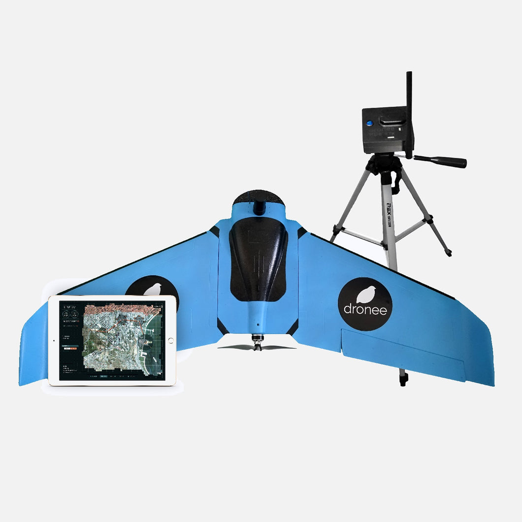 Professional Wing Drone with RTK/PPK - DRONEE CORNETTE