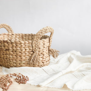 Handwoven Grass Baskets