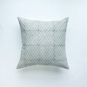 Phulara Throw Pillow - Grey Indigo