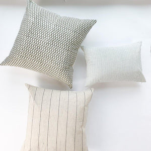 Amera Throw Pillow - Grey Olive