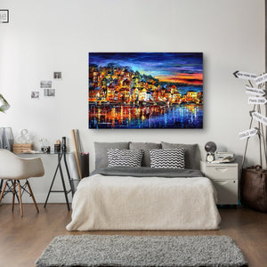 Town of Lights - paintingsonline.com.au