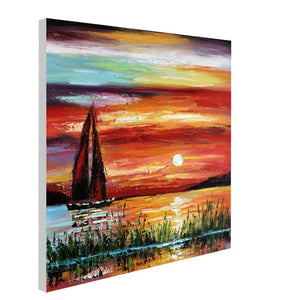 Dusk Scenery - paintingsonline.com.au